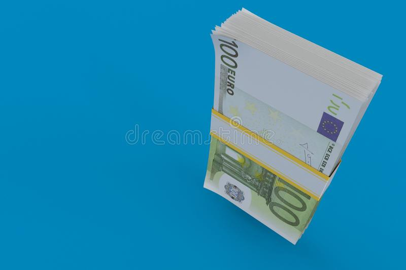 Euro devise illustration stock