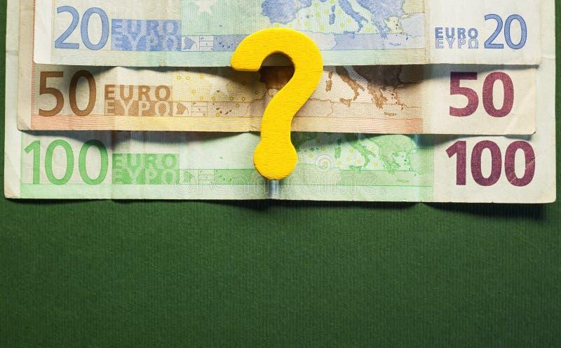 Euro dewaluacja obraz stock
