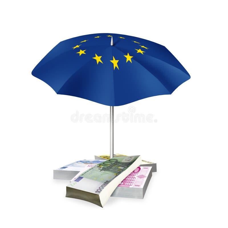 Download Euro di area illustrazione di stock. Illustrazione di banconote - 30829598