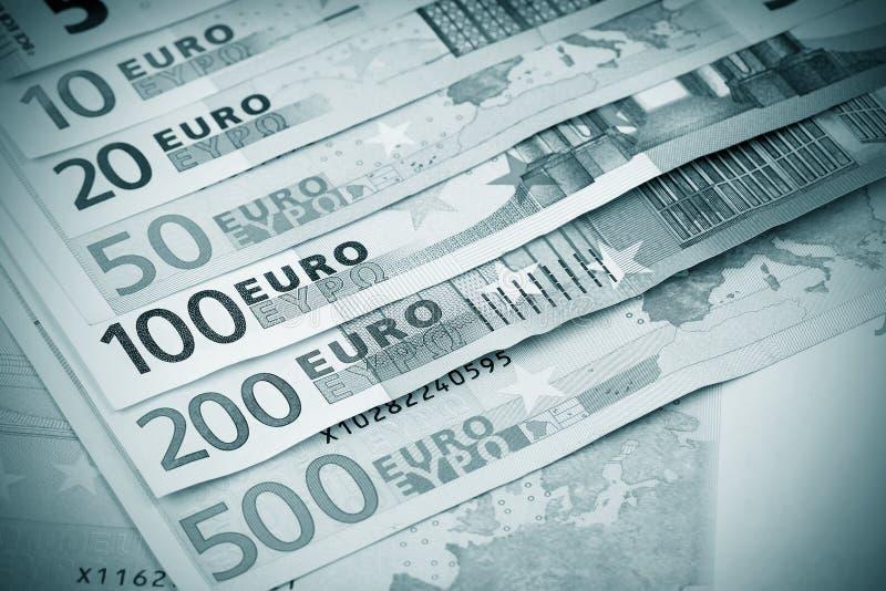 Euro- dinheiro fotografia de stock