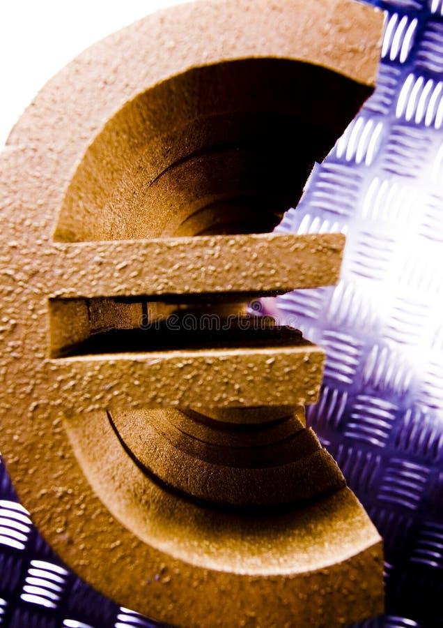 Euro do símbolo foto de stock