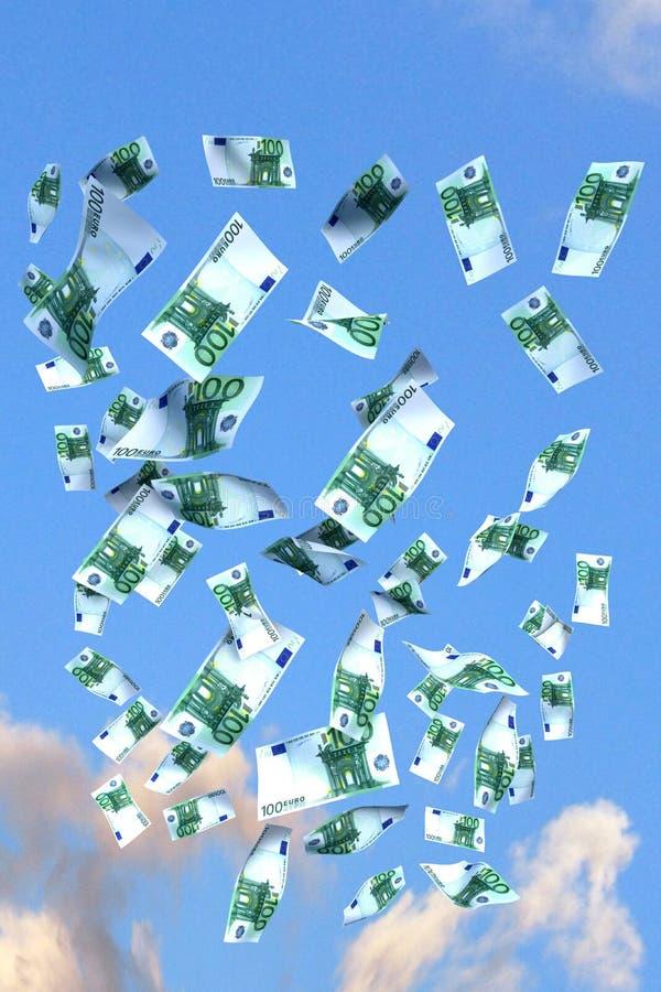 Euro do vôo ilustração do vetor