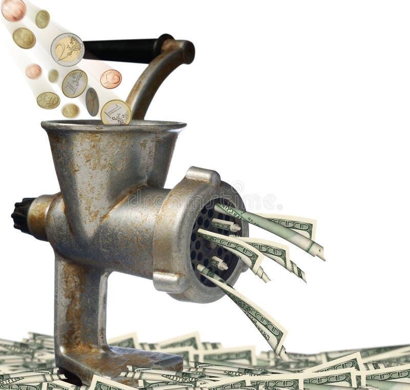euro dolarów. zdjęcia royalty free