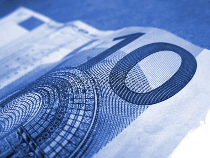 euro dziesięć obraz stock