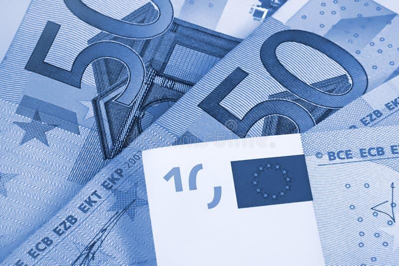 Euro fond abstrait d'argent photographie stock libre de droits