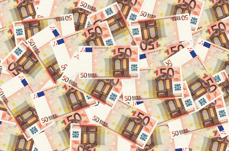 Euro fondo fotografia stock