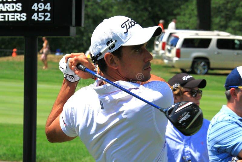 Euro golfista Rafael Bello fotografia royalty free