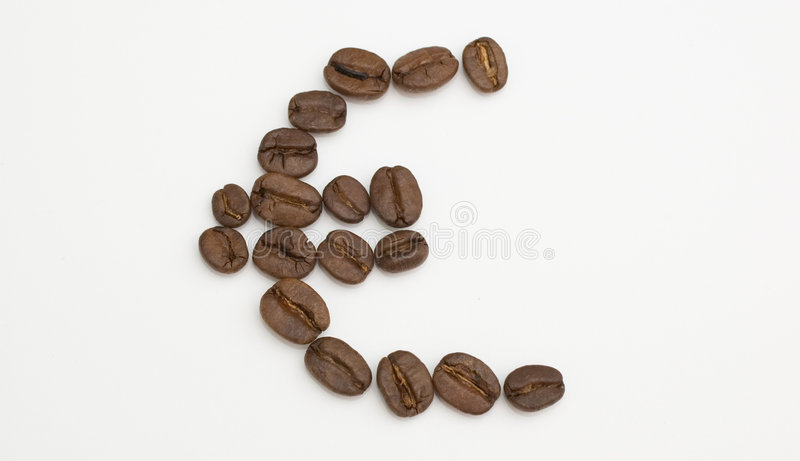 Download Euro haricots image stock. Image du devise, boisson, cappuccino - 78633