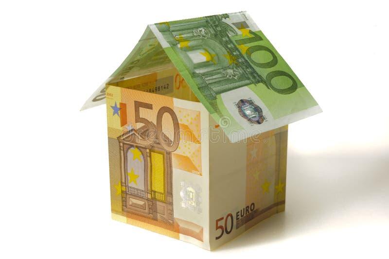 Euro house royalty free stock photography