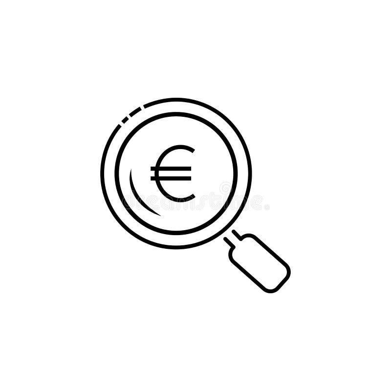 Euro icône de boucle Élément d'icône populaire de finances Conception graphique de qualité de la meilleure qualité Signes, icône  illustration de vecteur