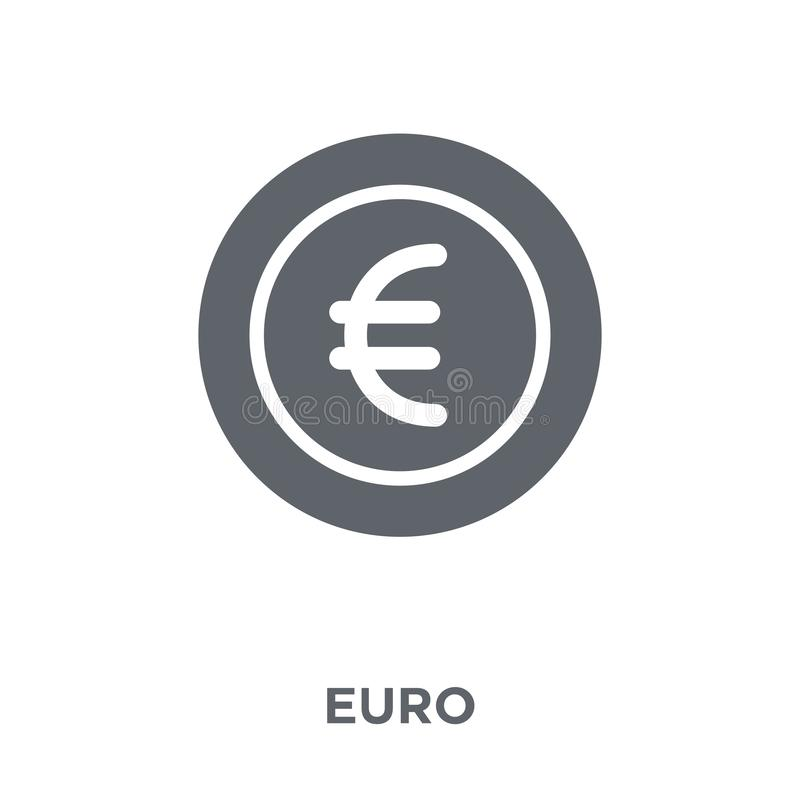 Euro icon from Payment collection. vector illustration