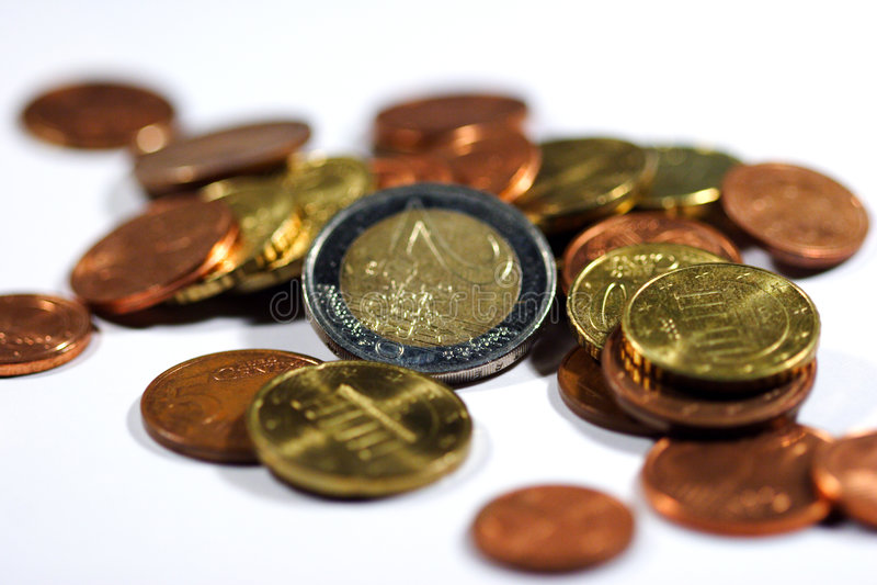 Download Euro II stockbild. Bild von finanzierung, ernstlich, werte - 34537