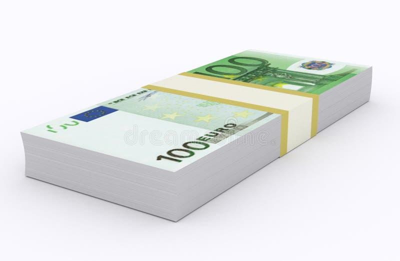 Euro ilustracja zdjęcia stock