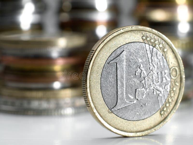 euro jeden obraz stock