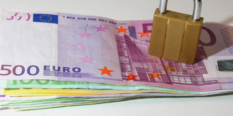 euro jest zdjęcie royalty free