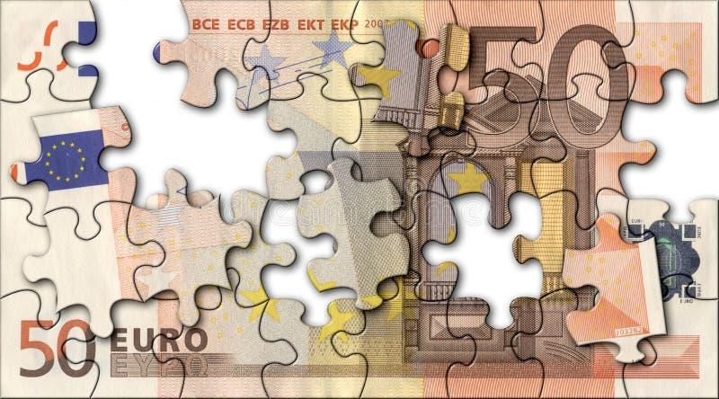 Euro Jigsaw Stock Photos