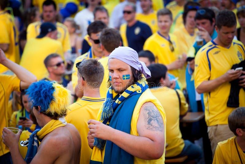 Euro-2012 in Kiev stock photography