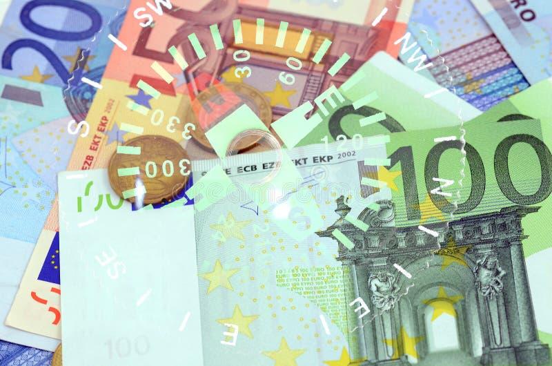EURO kompas obrazy stock