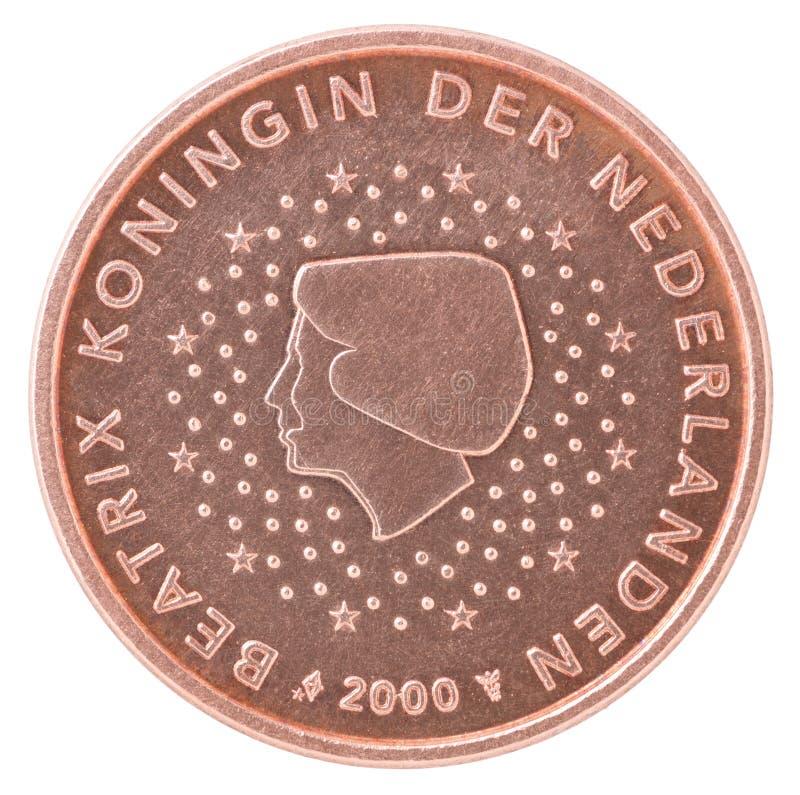 Euro- moeda do centavo imagem de stock royalty free