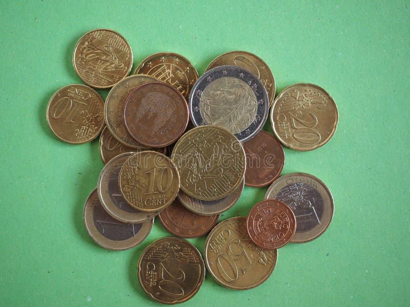 Download Euro- moedas foto de stock. Imagem de mudança, europeu - 65577148