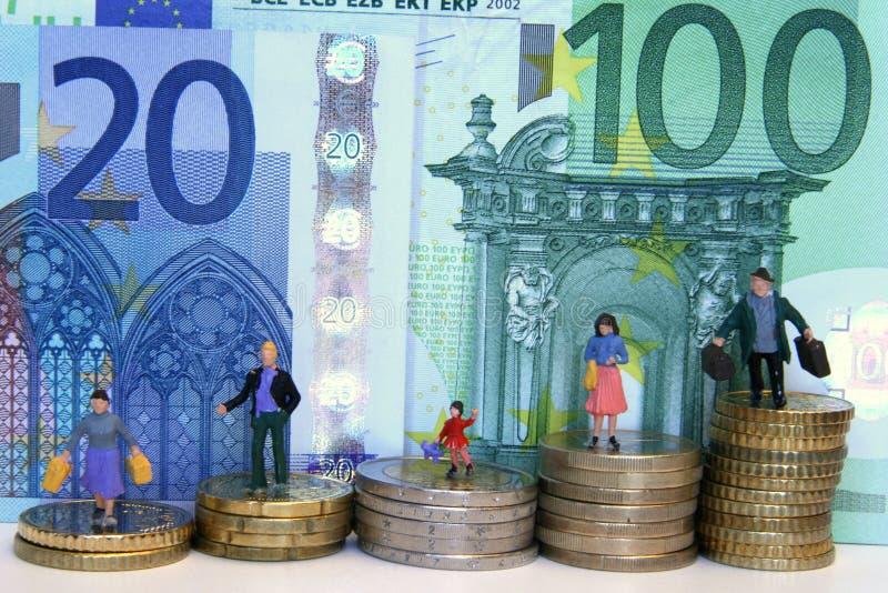 Euro mondo immagini stock libere da diritti