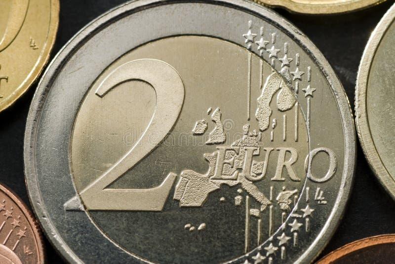 Euro moneta immagine stock libera da diritti