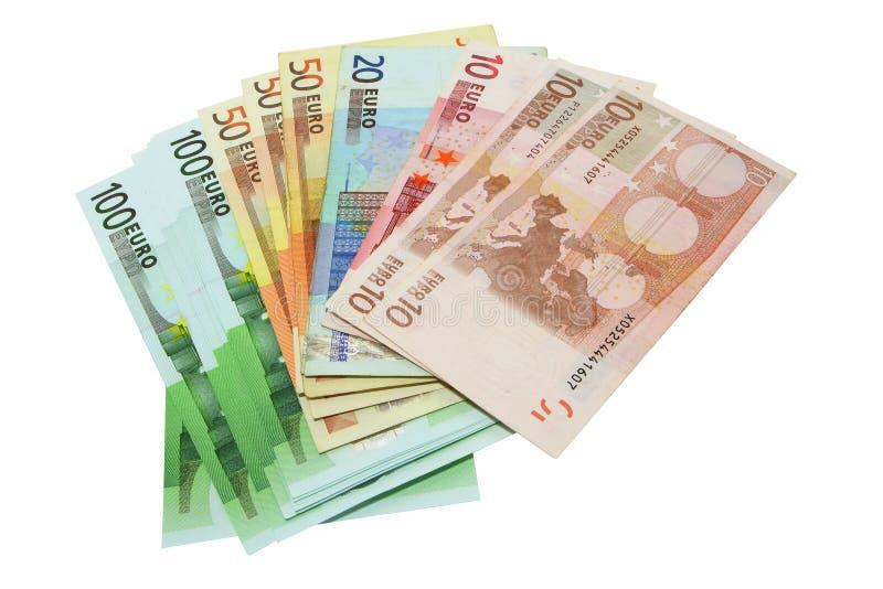 Euro money stock photography