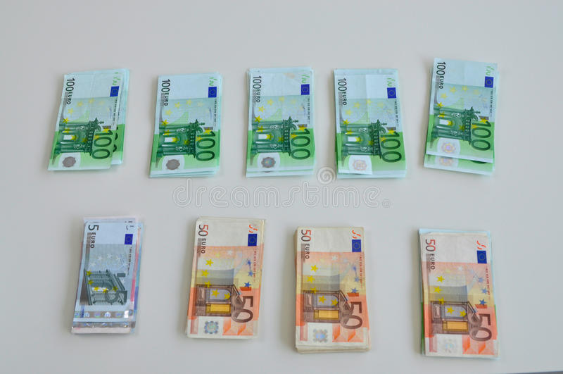 Download Euro money stock image. Image of stack, money, crisis - 22972759