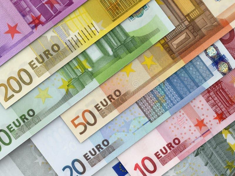 Euro Money Banknotes royalty free stock photo