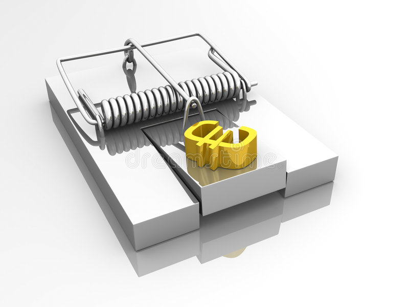 Download Euro Mouse Trap Royalty Free Stock Photos - Image: 6383608
