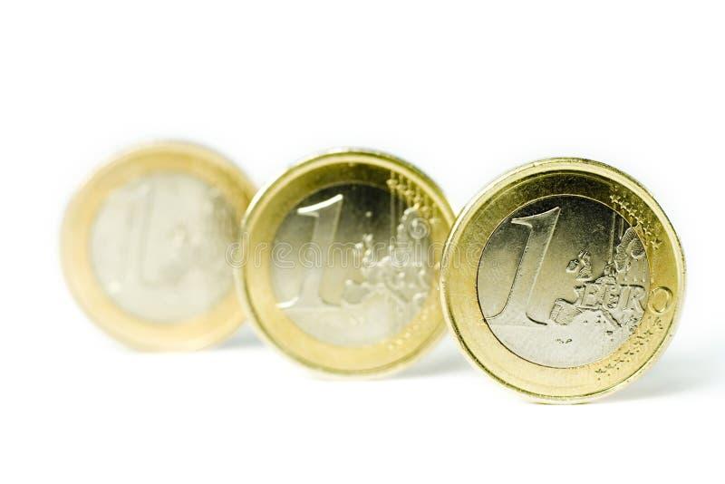Euro Muntstukken stock fotografie