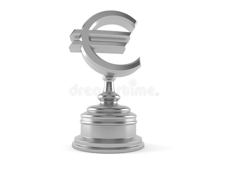 Euro nagroda ilustracja wektor