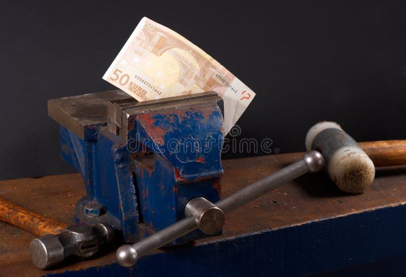 euro naprawianie fotografia royalty free