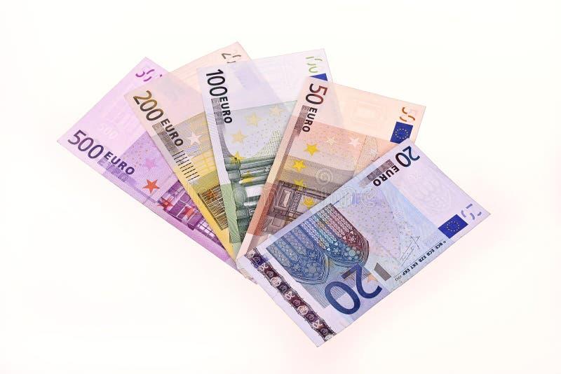 euro notatki obraz stock