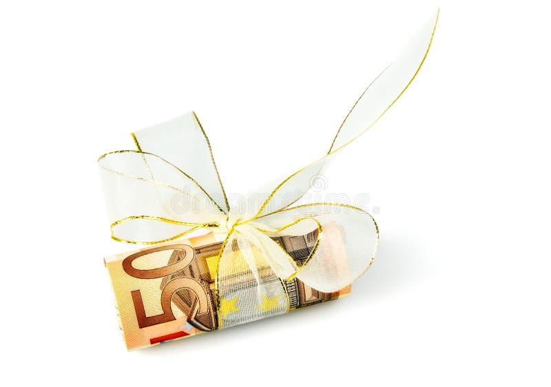 50-Euro-Notes стоковая фотография