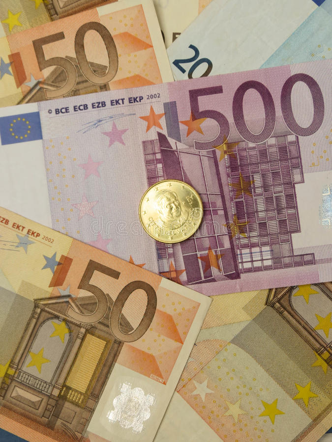 Download Euro Notes And Coins Stock Image - Image: 30362721