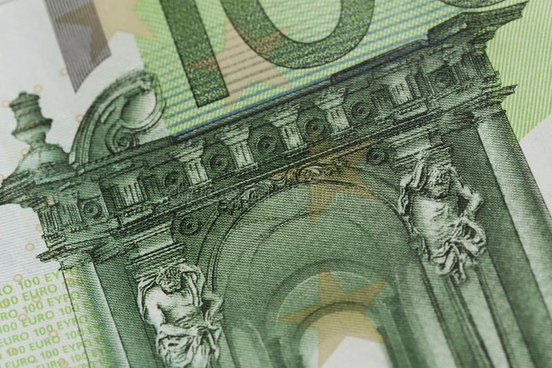100 euro notes - image photo stock