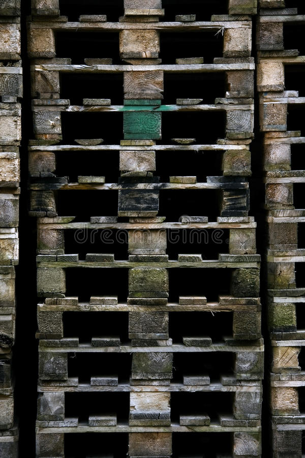 Download Euro Pallets Stock Photo - Image: 9583690