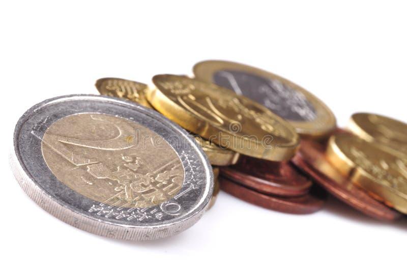 Euro pièce de monnaie image libre de droits