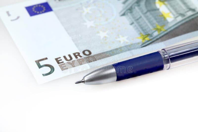 euro pióro fotografia royalty free