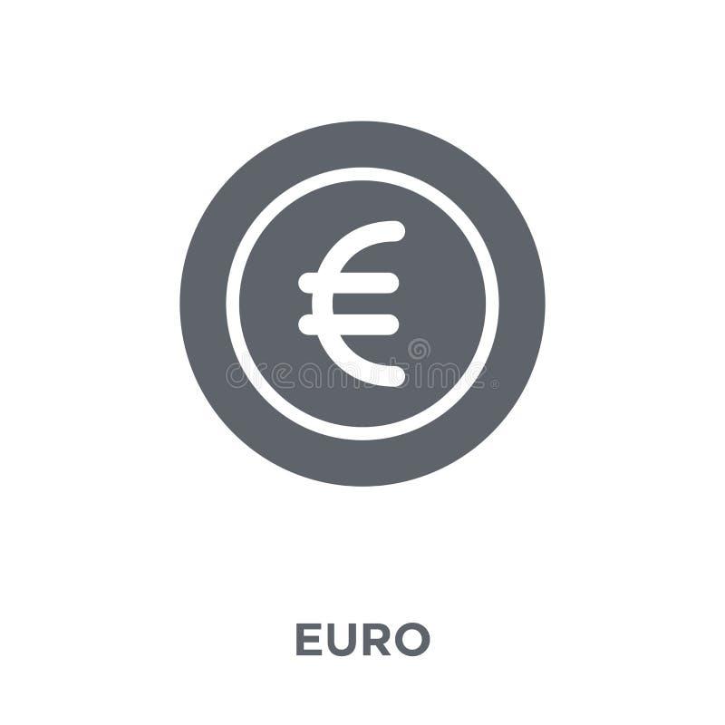 Euro pictogram van Betalingsinzameling vector illustratie