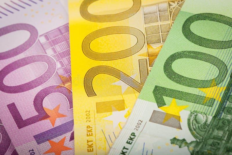 Euro pieniądze obrazy stock