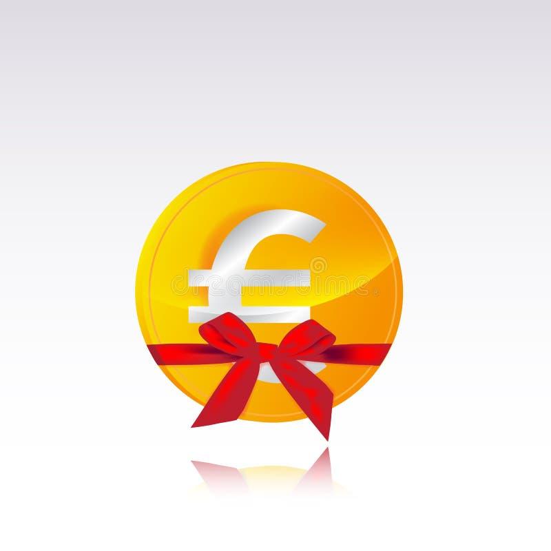 Download Euro- presente da moeda ilustração stock. Ilustração de monetary - 29848722