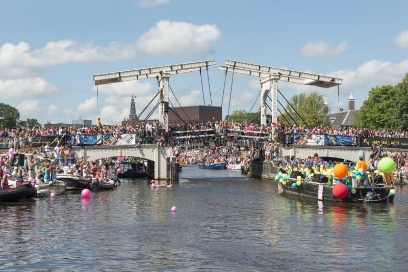 Euro Pride Amsterdam 2016 immagini stock