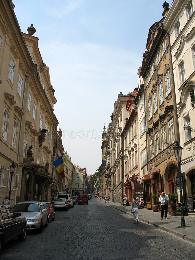Euro- ruas fotos de stock royalty free