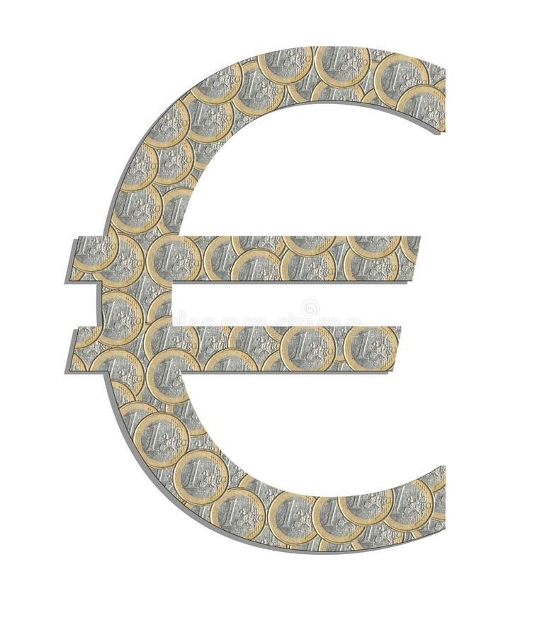 Euro- Símbolo Imagem de Stock