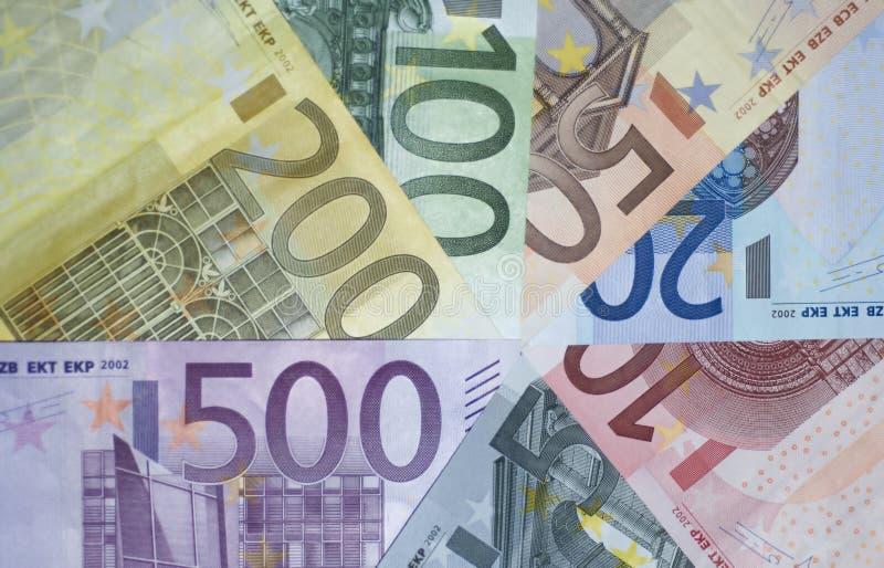 Euro`s Royalty Free Stock Photos
