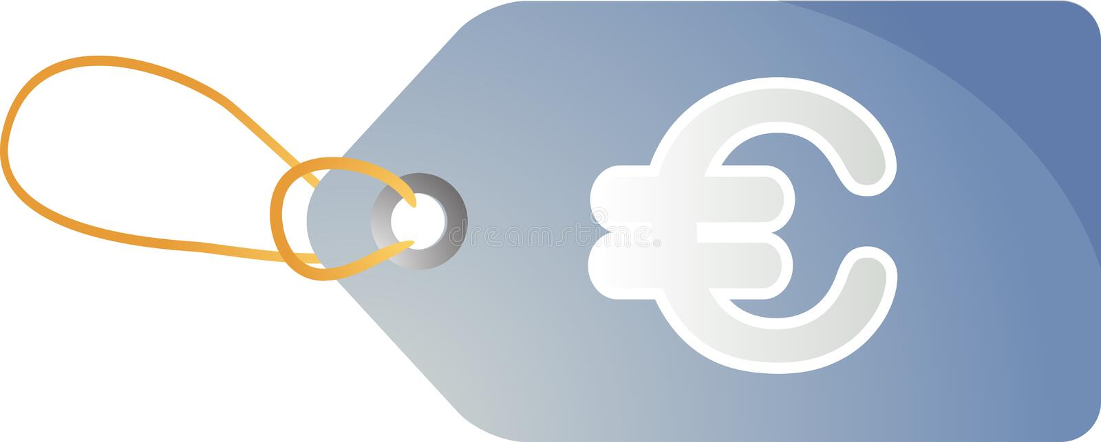 Euro Sales Tag Stock Images