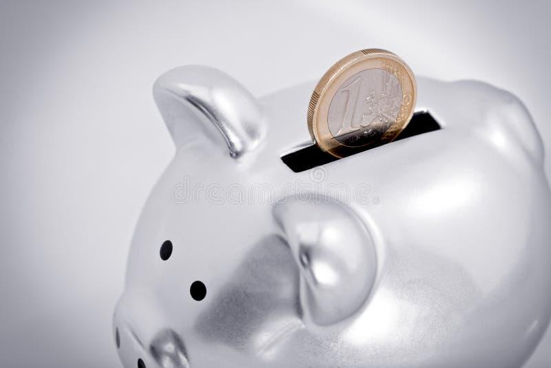Euro savings royalty free stock photo