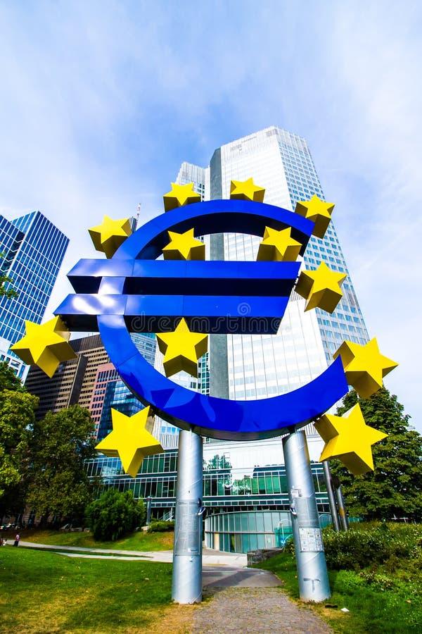 FRANCOFORTE SUL MENO, Germania - 3 Settembre 2016: Euro ...